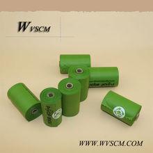 custom refill roll 100% biodegradable dog waste bag manufacturer