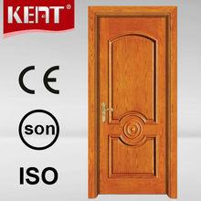 Indian Interior Solid Wooden Paneled Home Door Frame And Single Leaf Design