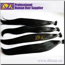 1g/Strand wholesale stick virgin natural hair i tip