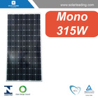 TUV approved 315w pv solar panel price with silicon wafer solar cell for home solar generator system