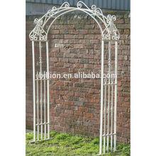 metal garden arch design