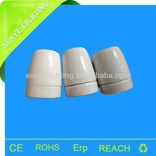 CE, VDE,SAA, RoHS, E27 Light Socket ,Bulb holder,flower ceramic table lamp