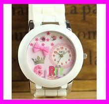 JC883 Hotsale and Fashion Leather Strap Korea mini miniature watch with Japanese movement
