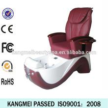 2014 nail salon spa massage chair&manicure tables and pedicure chairs&electric pink pedicure chair (KM-S135-15)
