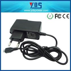 Alibaba 5v 2.6a 2.5A 2A 1.5A 1A 0.5A power adapter,wall ac/dc charger,switching mode dc regulated powr supply adaptor