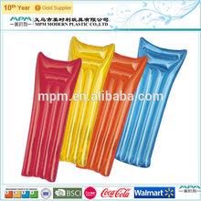 plastic pvc custom inflatable mattress