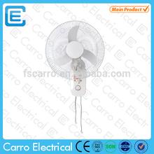 Popular 16 inch solar dc electric wall fan from vietnam DC-12V16F2