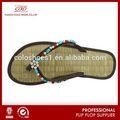 Di alta qualità vendita calda pelle di serpente capovolgere paglia- flop per il commercio all'ingrosso