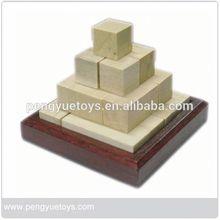 Interesting Pyramid Blocks