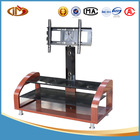 mdf glass led/lcd TV stand design