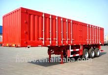 utility cargo box trailer for electric appliance/textile goods/coal/dinas transportation