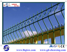 Hot sale child safety pool welded wire fence panels with peach-type post