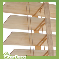 Stardeco Factory supplier Eco-friendly colorful bamboo window blinds