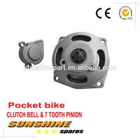 Clutch Bell Housing Gear Box Mini Moto Pocket Bike Quad ATV Parts