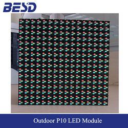 High quality led display 160mm x 160mm p10 led module