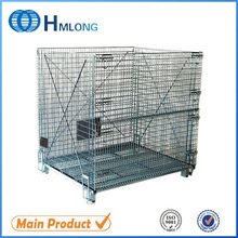 China unbreakable metal storage mesh container