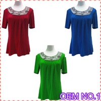 New Product OEM No1 high quality beades design fashion woman ropa clothes