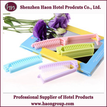 hot sale disposable hotel folding comb