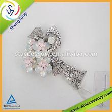 wholesale brooch pin high top grade elegant fashion rhinestone diamante metal brooch