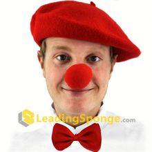 2012 red clown magic scarf
