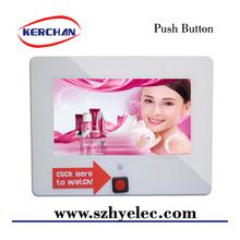 10 inch Small motion sensor lcd tv advertising display\lcd display with motion sensor\indoor advertising led tv display