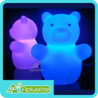 Baby Zoobow - Long lasting 3xAAA Battery Operated Color Changing Animal Bear Shaped Portable LED Night Light