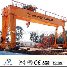 MG Model Metal Industry Double Beam Gantry 50 Ton Crane