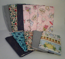 multiple pattern notebook, sewing bound notebook for school supplies