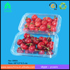 PET middle size fresh bule strawberry box/ PET clear plastic frozen food tray