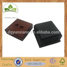 Square wooden display holder MDF wooden mold base