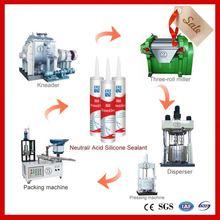 machine for construction glazing silicone sealant