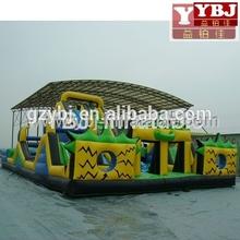 Hot sale commercial grade PVC Tarpaulin brand new FU049 inflatable rocket fun city