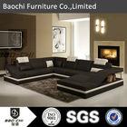 Baochi modern leather lounge suite,chesterfield sofa,sofa set designs C1158