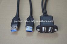 Mechanism USB3.0 2 port & Dual port Fly Lead