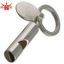 Custom Wholesale Whistle Keychain Engraved Metal Key Chain