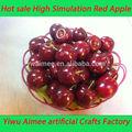 Yiwu fournitures en gros aimee en plastique petites pommes de décoration( suis- fy02)