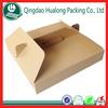 E-flute kraft paper take away food box for wholesale