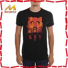 Cheap silk screen printing t shirts 100% cotton O neck design custom printed t shirts