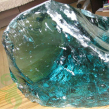 Crushed Glass Rocks for sale
