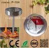 illuminated steak button stainless steel oven thermometer