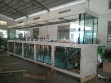 Custom large clear glass aquarium tank huge glass aquarium tank big glass tank
