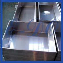 custom outdoor stainless steel trough