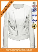 Hot selling newdesign leather motorbike jacket