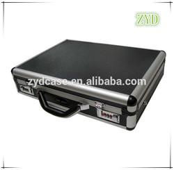 Aluminium Frame Computer Case PVC Laptop Case with Lock