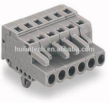 Gray cage wiring unit connector 231-106/008-000 wago terminal blocks
