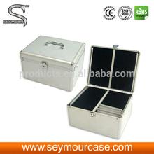 Portable DVD Player Case Aluminum CD Case 300-Disc ABS CD/DVD dj Case
