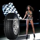 Hot sale durable semi steel radial good drive car tires