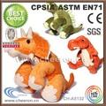 2014 personalizado fábrica de brinquedos de pelúcia dinossauro rei