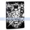 cool lion white and black custom PC hard case for ipad air for apple cover