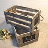 Customized Vintage Wood Crate Box Accepted OEM
